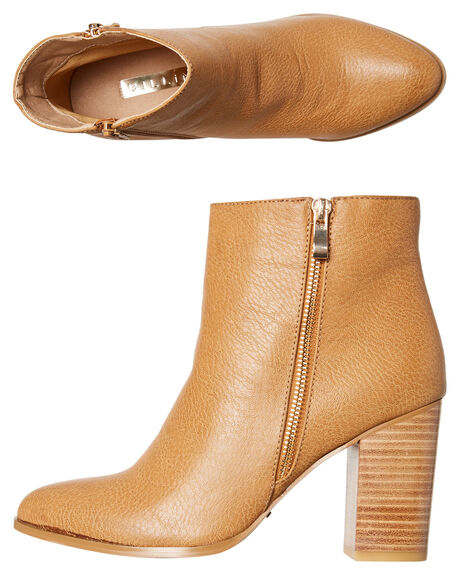 TAN WOMENS FOOTWEAR BILLINI BOOTS - B830TAN
