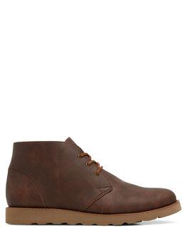 CHOCOLATE MENS FOOTWEAR KUSTOM BOOTS - KS-K901101-CHC