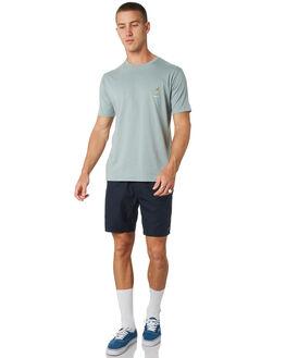 TEAL MENS CLOTHING BARNEY COOLS TEES - 117-CC2-TEAL