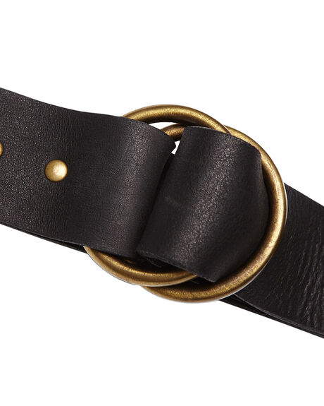 BLACK WOMENS ACCESSORIES BILLABONG BELTS - 6666602BLK