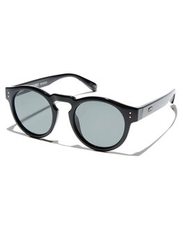 GLOSS BLACK MENS ACCESSORIES LOCAL SUPPLY SUNGLASSES - FREEWAYBKG25
