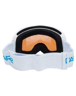 WHITE ORANGE BOARDSPORTS SNOW CARVE GOGGLES - 6022AFWHTOG