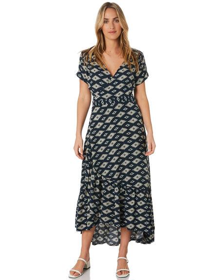 NAVY GEO WOMENS CLOTHING O'NEILL DRESSES - 5921604NGO