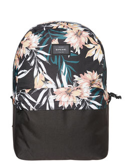 BLACK WOMENS ACCESSORIES RIP CURL BAGS + BACKPACKS - LBPMC10090