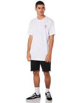 WHITE MENS CLOTHING SANTA CRUZ TEES - SC-MTA9151WHT