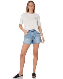 VINTAGE CREAM WOMENS CLOTHING RUSTY TEES - TTL1037VTC