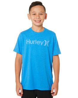 LIGHT PHOTO BLUE KIDS BOYS HURLEY TOPS - AO2239-464