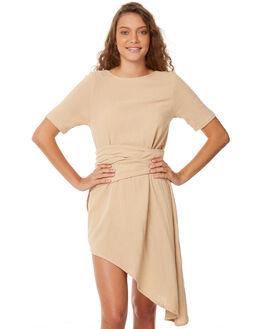 LATTE WOMENS CLOTHING ZULU AND ZEPHYR DRESSES - ZZ2083LAT
