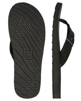 BLACK MENS FOOTWEAR RIP CURL THONGS - TCTG330097