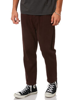 POSTAL BROWN MENS CLOTHING THRILLS JEANS - TDP-414CPBRN