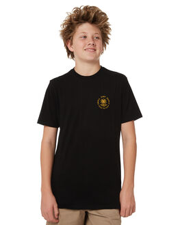 BLACK KIDS BOYS SWELL TEES - S3184013BLACK