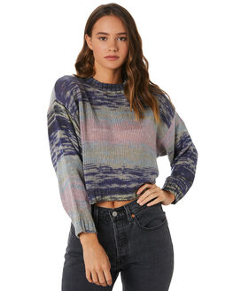 MULTI WOMENS CLOTHING VOLCOM KNITS + CARDIGANS - B0711901MLT