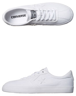 WHITE WOMENS FOOTWEAR CONVERSE SNEAKERS - 555980WHI