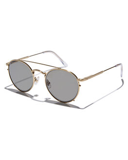 GOLD WIRE CLEAR MENS ACCESSORIES CRAP SUNGLASSES - TUFFS700PGGWC