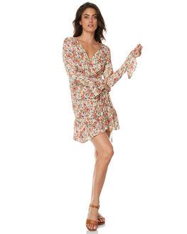 NATURAL WOMENS CLOTHING AUGUSTE DRESSES - AMG2-17623NAT