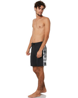 BLACK MENS CLOTHING VANS BOARDSHORTS - VNA49QXBLKBLK