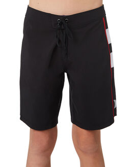BLACK KIDS BOYS HURLEY BOARDSHORTS - AO2220010