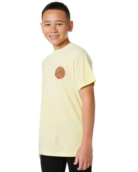 LEMON KIDS BOYS SANTA CRUZ TOPS - SC-YTA0467LMN