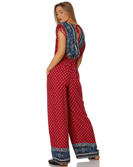 RED NAVY WOMENS CLOTHING BAND OF GYPSIES PLAYSUITS + OVERALLS - W1840590-2771R