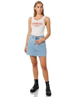EGRET WOMENS CLOTHING THRILLS SINGLETS - WTR9-156AEGRET