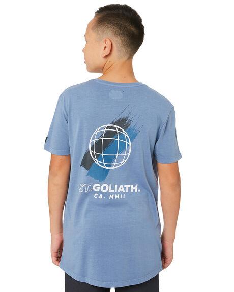 BLUE KIDS BOYS ST GOLIATH TOPS - 2421001BLU