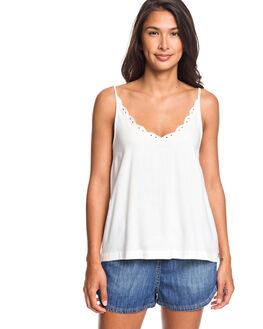 SNOW WHITE WOMENS CLOTHING ROXY FASHION TOPS - ERJWT03373-WBK0