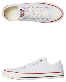 WHITE MENS FOOTWEAR CONVERSE SNEAKERS - SS160515WHTM