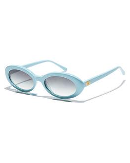 SKY BLUE WOMENS ACCESSORIES CRAP SUNGLASSES - SWEEL017GFSBLU