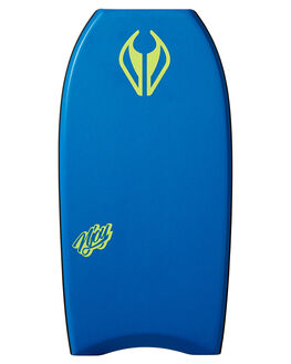 ROYAL BLUE YELLOW BOARDSPORTS SURF NMD BODYBOARDS BOARDS - N19NJOY41RBRBLUY