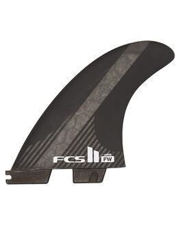 BLACK BOARDSPORTS SURF FCS FINS - FFWL-CC02-LG-FS-RBLK