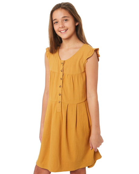 MUSTARD KIDS GIRLS SWELL PLAYSUITS + OVERALLS - S6184441MUSTD