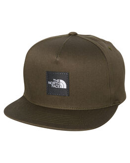 TAUPE GREEN GREY MENS ACCESSORIES THE NORTH FACE HEADWEAR - NF0A3FFK79K