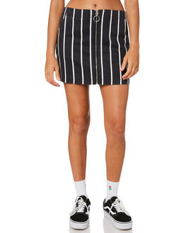 STRIPE WOMENS CLOTHING VOLCOM SKIRTS - B1431800STP