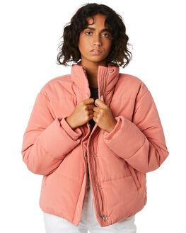 CORAL WOMENS CLOTHING COOLS CLUB JACKETS - 504-CW2COR