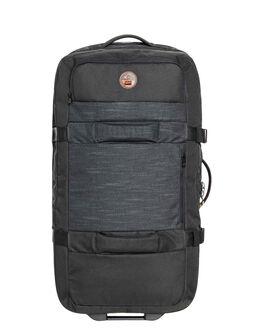 STRANGER BLACK MENS ACCESSORIES QUIKSILVER BAGS + BACKPACKS - EQYBL03139-KYG0