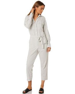 SALT LAKE STRIPE WOMENS CLOTHING RUE STIIC PLAYSUITS + OVERALLS - SA19-38-SLS