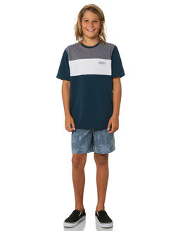 ARMORY NAVY KIDS BOYS HURLEY TOPS - BQ0735454