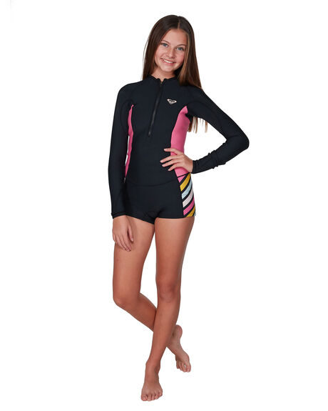 BLACK BOARDSPORTS SURF ROXY GIRLS - ERGW403006-KVJ0