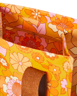RETRO MUSTARD FLORAL WOMENS ACCESSORIES KOLLAB BAGS + BACKPACKS - P-MB-RMF