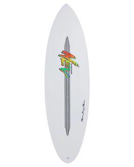 WHITE BOARDSPORTS SURF NEV SURFBOARDS - NEV-RROCKET-WHT