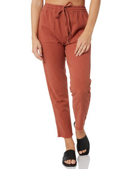 TERRACOTTA WOMENS CLOTHING RUSTY PANTS - PAL0994TRC