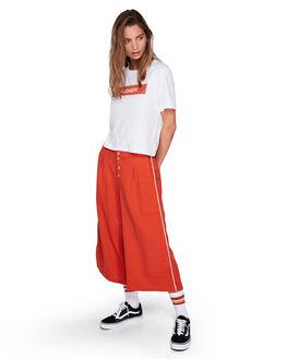 RUST WOMENS CLOTHING ELEMENT PANTS - EL-294261-RST