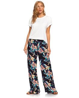 ANTHRACITE TROPIC WOMENS CLOTHING ROXY PANTS - ERJNP03287-KVJ7
