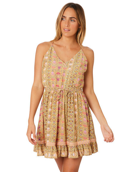 FLORAL WOMENS CLOTHING TIGERLILY DRESSES - T382413FLO