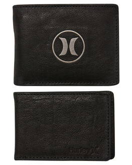 BLACK MENS ACCESSORIES HURLEY WALLETS - HU0093010