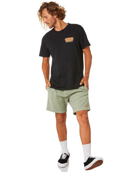 BLACK MENS CLOTHING THE LOBSTER SHANTY TEES - LBSJUNGLEBLK