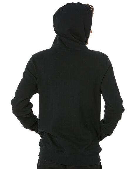 BLACK MENS CLOTHING HUF HOODIES + SWEATS - PF00099-BLACK
