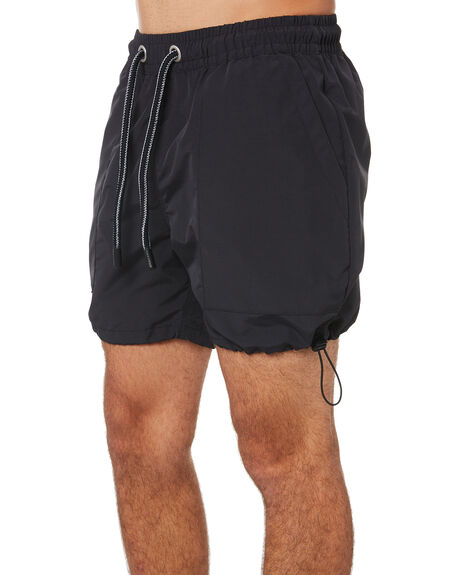 BLACK MENS CLOTHING ZANEROBE SHORTS - 604-FLDBLK