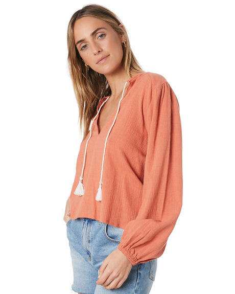 RUSTED PINK WOMENS CLOTHING RUSTY FASHION TOPS - SCL0309RDP