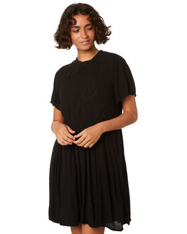 BLACK WOMENS CLOTHING VOLCOM DRESSES - B1311913BLK